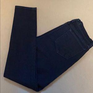 J brand dark skinny jeans.
